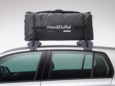 HandiWorld HandiDuffel 95|20kg Load Capacity|Polyester Tarpaulin Material|-Black Thumbnail 4