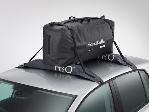 HandiWorld HandiDuffel 95|20kg Load Capacity|Polyester Tarpaulin Material|-Black Thumbnail 5