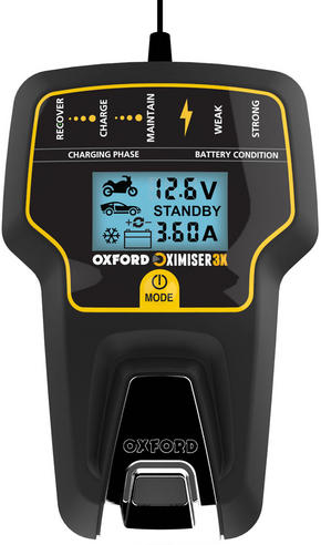 Oxford Oximiser 3X Battery Charger Multi Purpose Maintain For Vehicle - UK Model Thumbnail 2