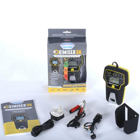 Oxford Oximiser 3X Battery Charger Multi Purpose Maintain For Vehicle - UK Model Thumbnail 4