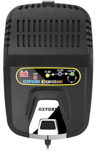 Oxford Oximiser 601 Battery Charger - UK Model - 12V|For MF Battery/ Gel/ AGM Thumbnail 2