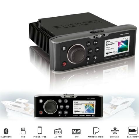 Fusion UD755 Marine Stereo|Multi-Zone|Internal Uni-Dock|Bluethooth|For Marine Thumbnail 1