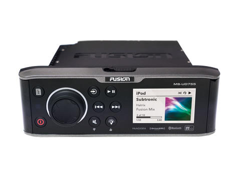 Fusion UD755 Marine Stereo|Multi-Zone|Internal Uni-Dock|Bluethooth|For Marine Thumbnail 2