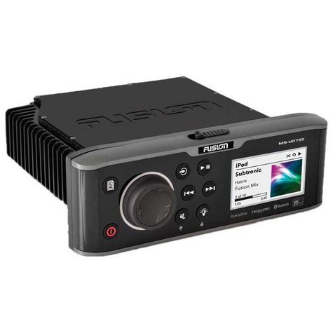 Fusion UD755 Marine Stereo|Multi-Zone|Internal Uni-Dock|Bluethooth|For Marine Thumbnail 4
