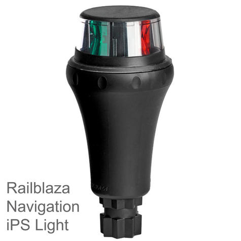 Railblaza-02500511|IPS Port|Starboard  Navigation LED Light|Bi-Colour|Floats Lens|For Kayak - Sailboat Thumbnail 1