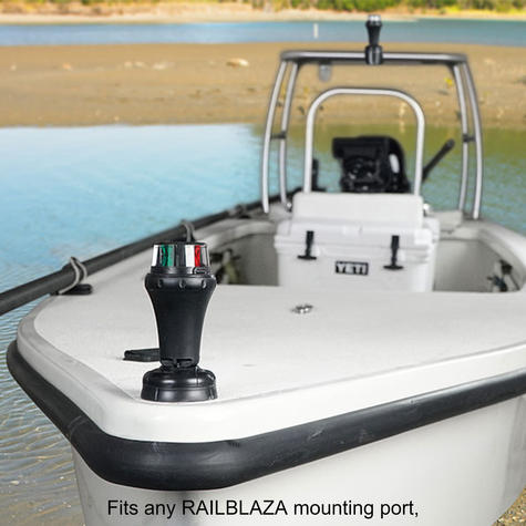 Railblaza-02500511|IPS Port|Starboard  Navigation LED Light|Bi-Colour|Floats Lens|For Kayak - Sailboat Thumbnail 5