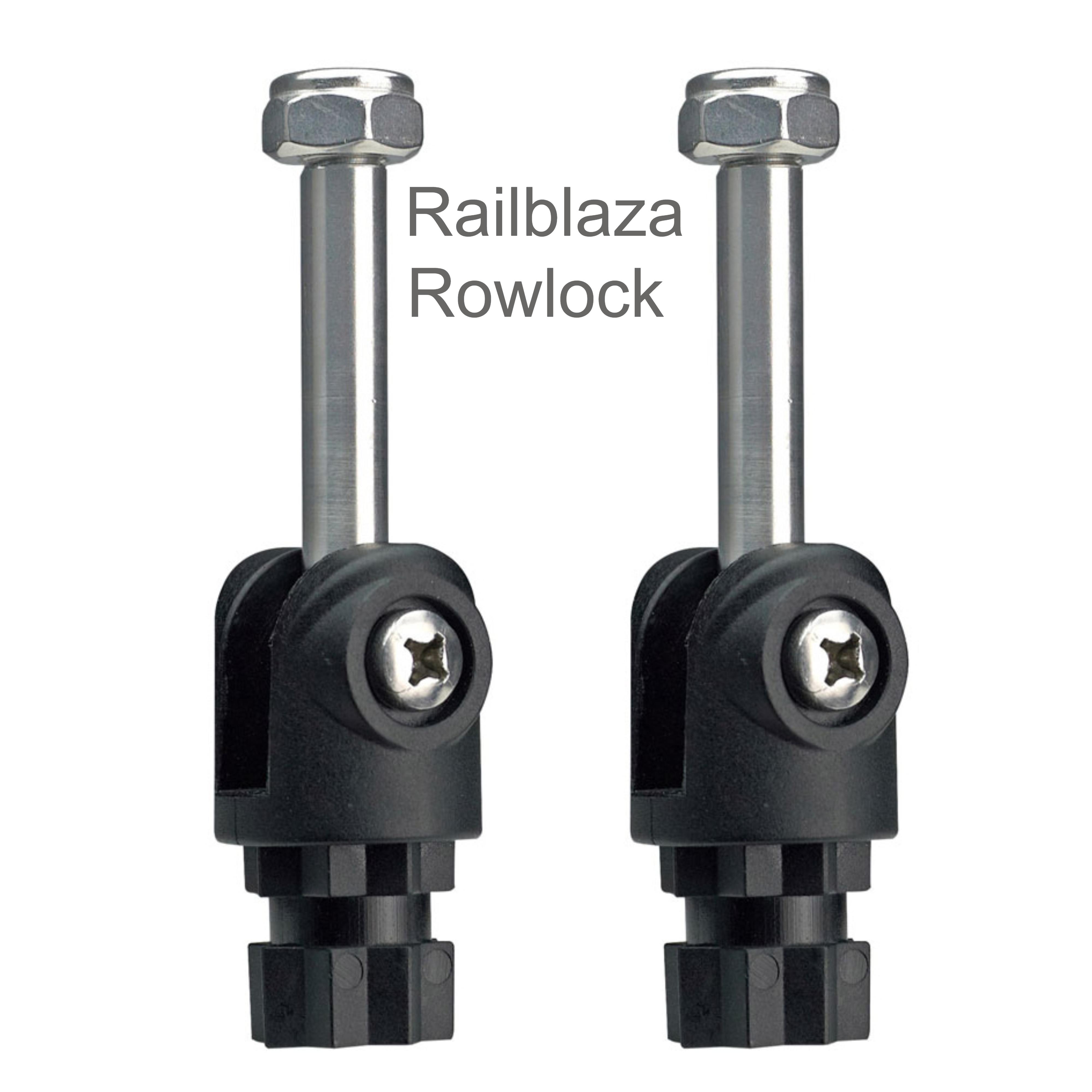 Railblaza Rowlock Pair|Removeble|Fits Aluminium Oars|For Boats-Black