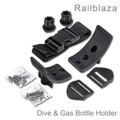 Railblaza Dive & Gas Bottle Holder   Strong/ Safe/ Versatile   02-4056-11   For Boats Thumbnail 1