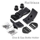 Railblaza Dive & Gas Bottle Holder | Strong/ Safe/ Versatile | 02-4056-11 | For Boats