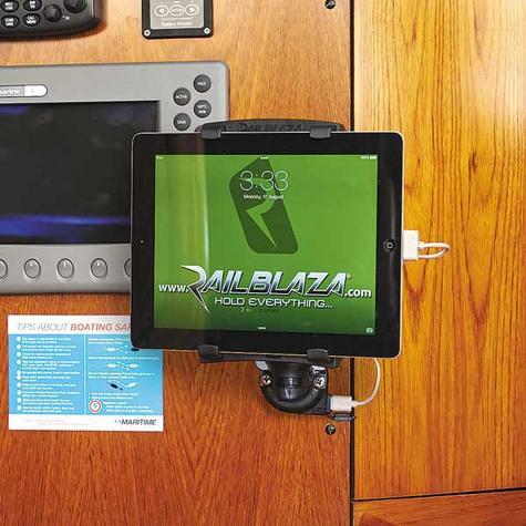 Railblaza E USB StarPort & Spacer|12 VDC Charger|2.1 Amps|For Marine - Black Thumbnail 4