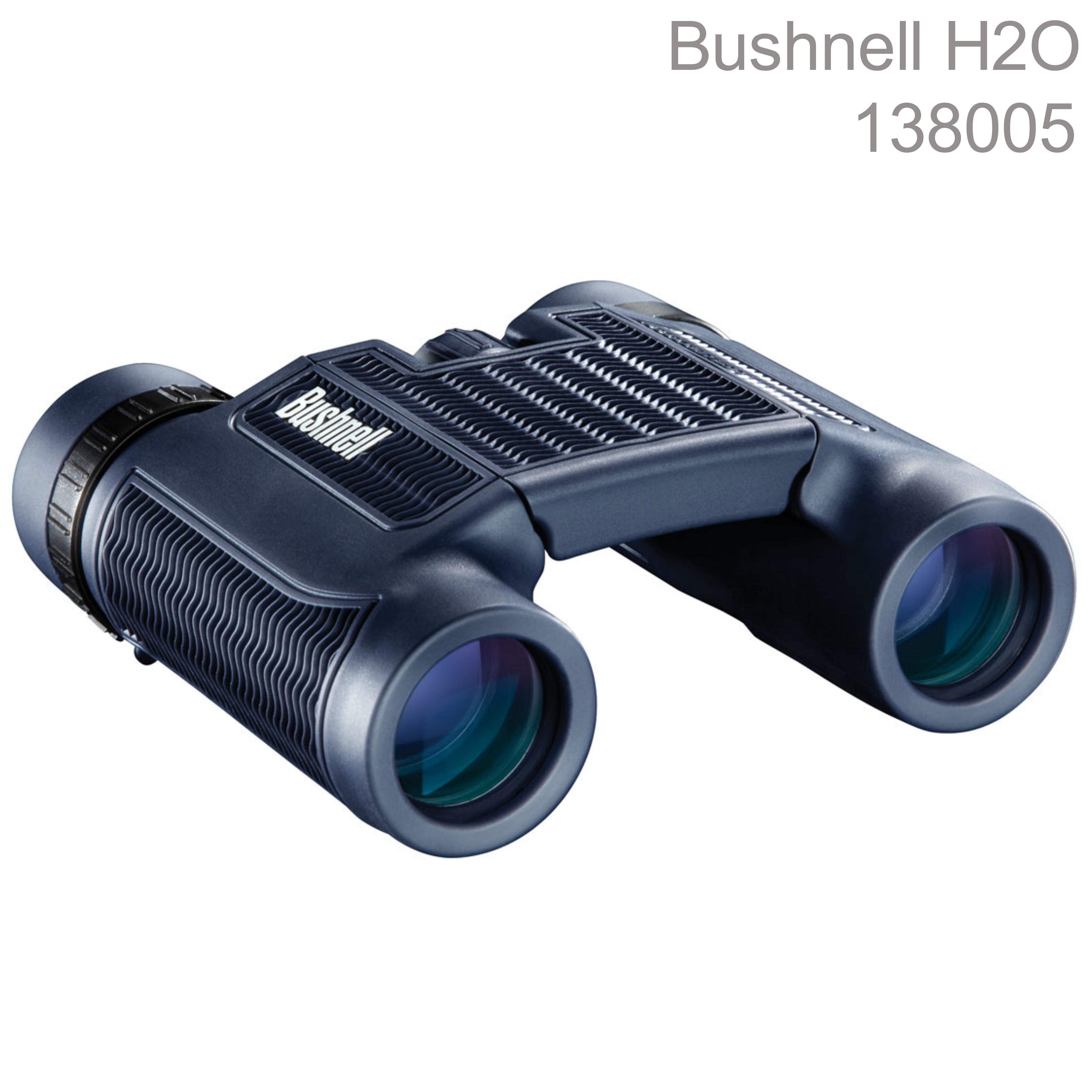 Bushnell-138005|H2O Binocluars 8x25mm|BaK-4 Roof Prisms|Multi-coated|Waterproof