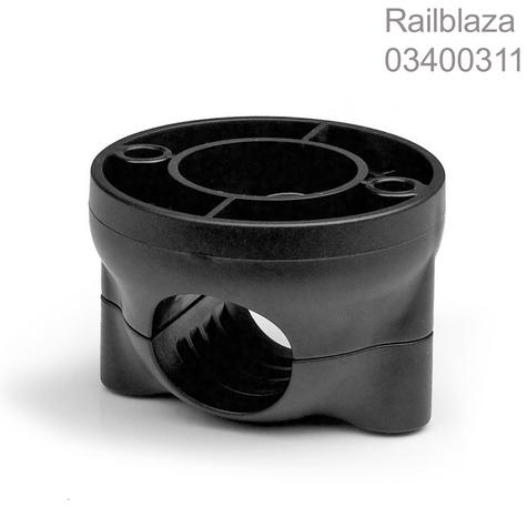 Railblaza-03400311|Rail-Mount|Fits 19mm-25mm|Pair|Strong & Quick to Fit|Black Thumbnail 1