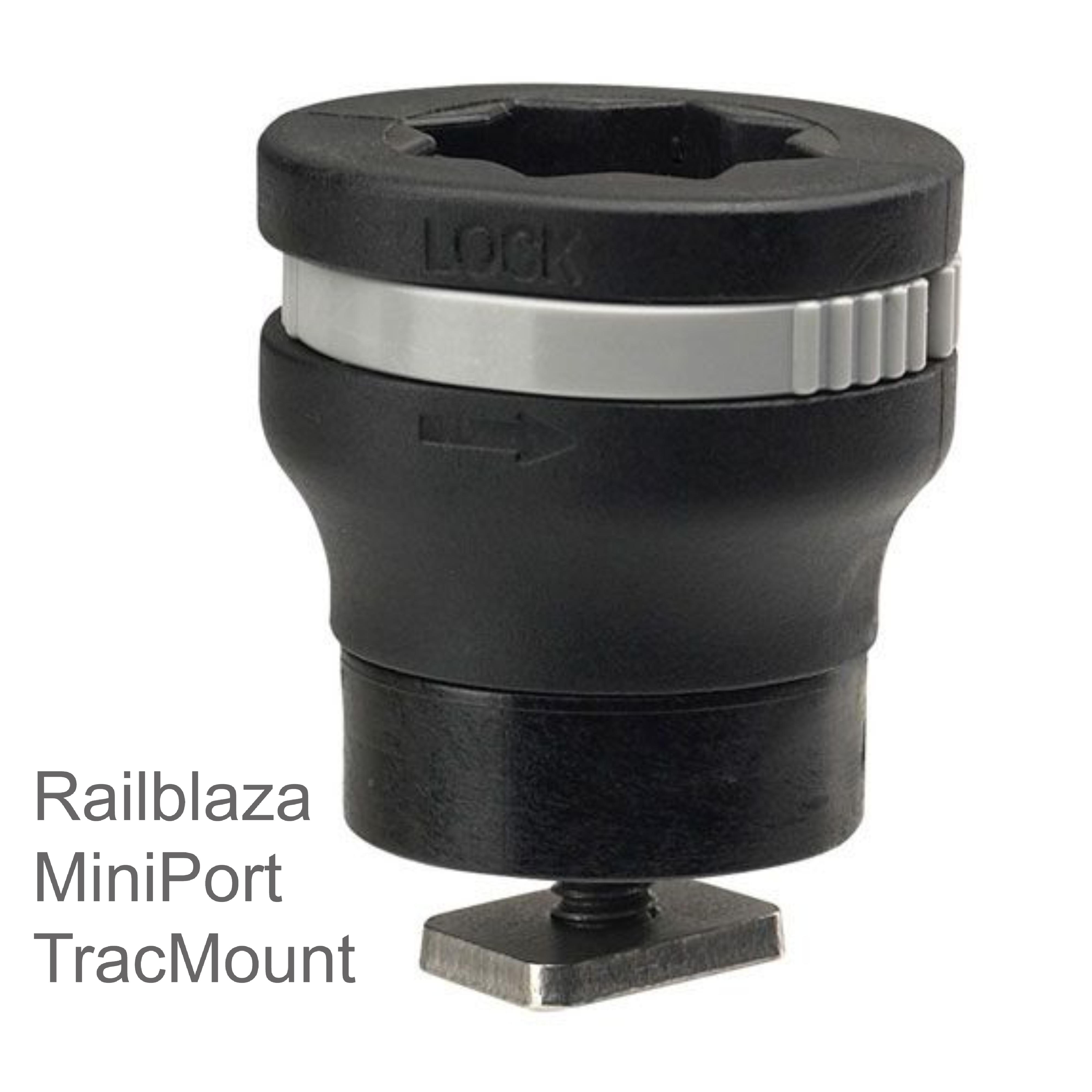 Railblaza|MiniPort TracMount|Easily Fit & Adjusted|For Watercraft-YakAttack