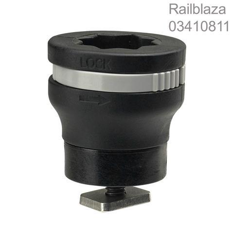 Railblaza|MiniPort TracMount|Easily Fit & Adjusted|For Watercraft-YakAttack Thumbnail 1