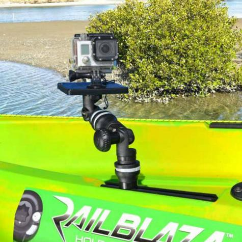 Railblaza|MiniPort TracMount|Easily Fit & Adjusted|For Watercraft-YakAttack Thumbnail 3