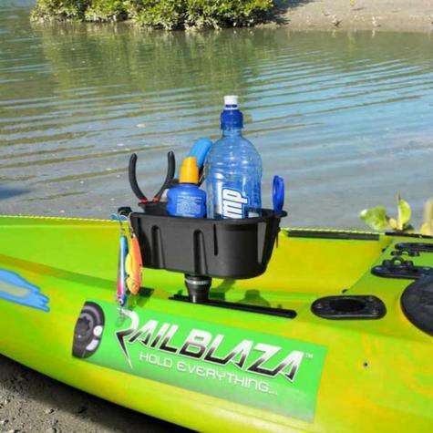 Railblaza|MiniPort TracMount|Easily Fit & Adjusted|For Watercraft-YakAttack Thumbnail 4
