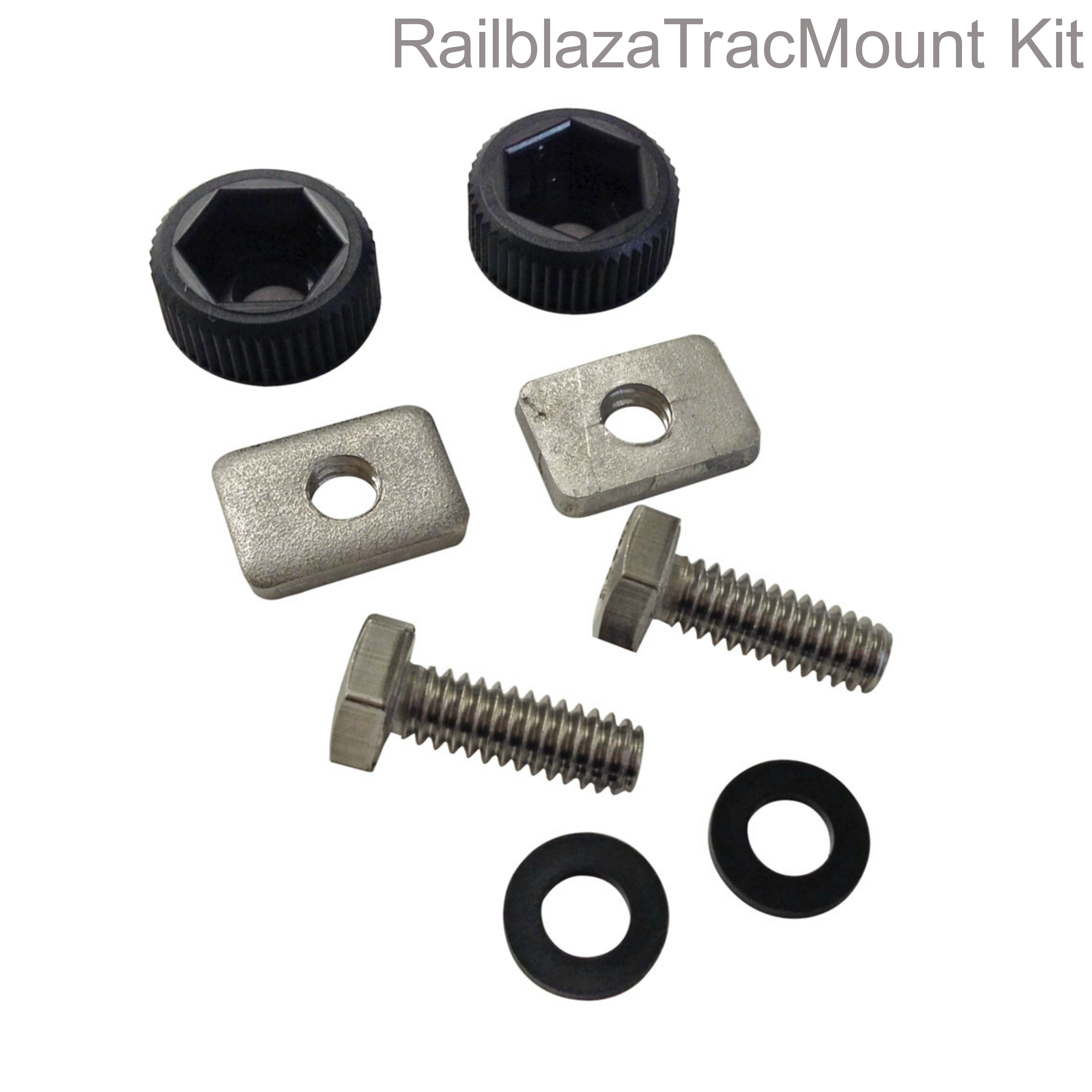 Railblaza 03-4109-11 StarPort HD TracMount Kit|Centrally Lock|For Kayak Accessory