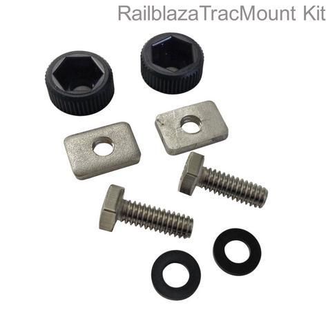 Railblaza 03-4109-11 StarPort HD TracMount Kit|Centrally Lock|For Kayak Accessory Thumbnail 1