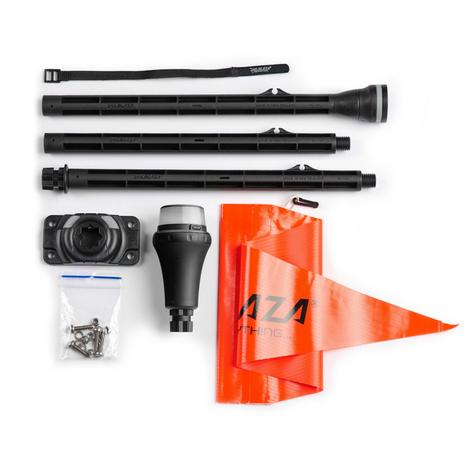 Railblaza|Kayak Visibility Kit-II|For Day& Night Safety|SS|Strong & Light Weight|Black Thumbnail 2