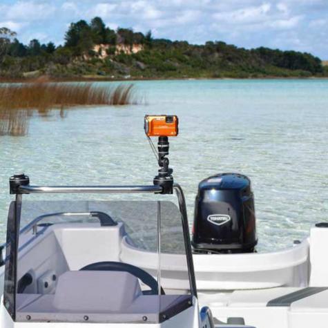 Railblaza|Camera&GoPro Mount Kit|Flexible|Fit any Starport|For Kayak-Yacht-Boat Thumbnail 4