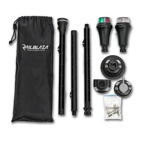 Railblaza-NaviPack Portable LED|Navigation Light Kit|Use In Kayak & Sailboats Thumbnail 2
