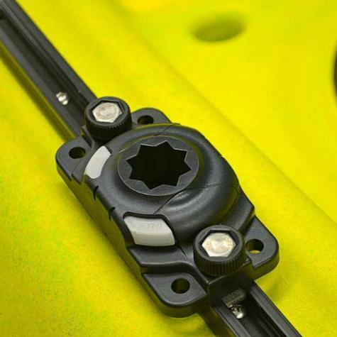 Railblaza 03-4046-11 StarPort HD|4 Screw Base|Locking Slide|Kayak Accessory|Black Thumbnail 2