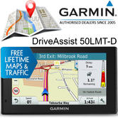 "Garmin DriveAssist 50LMT-D 5"" GPS SatNav 