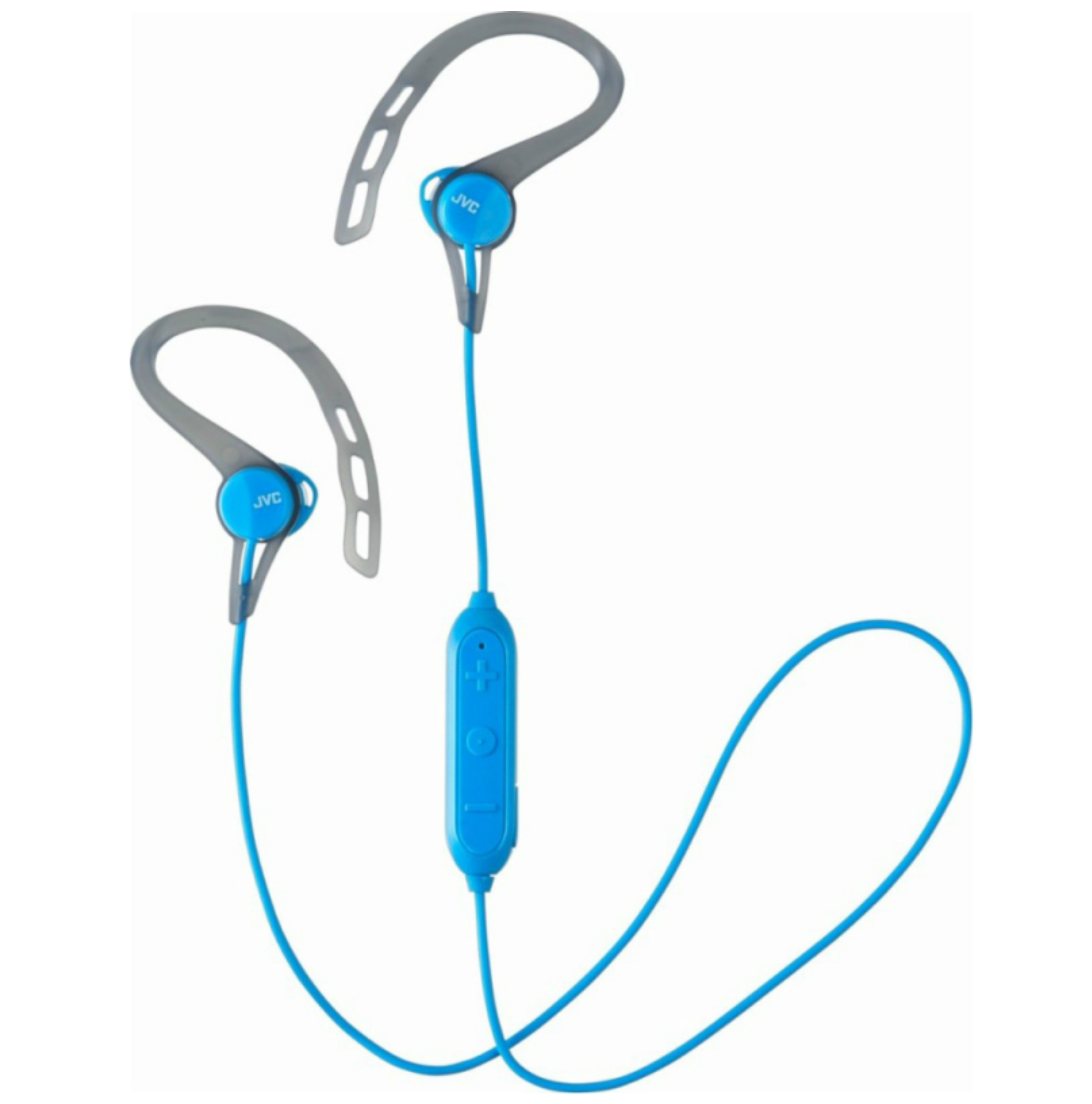 JVC HAEC20BTBE Sports Headphones|Stereo|Wireless Bluetooth|Ear Clip|In Ear|Blue