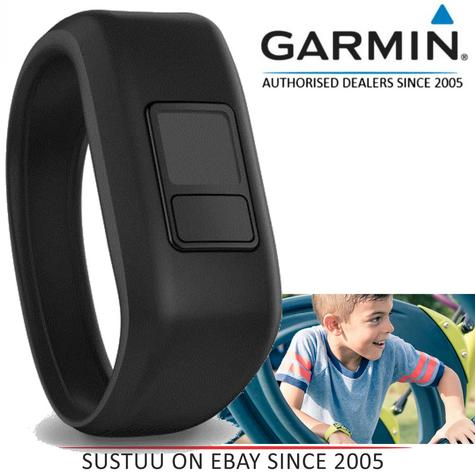 Garmin 010-12469-03|Black Replacement Strap Band|VivoFit JR Kids Activity Tracker Accessories Thumbnail 1