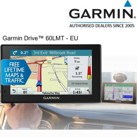 "Garmin Drive 60-LMT?6"" GPS SATNAV?FREE LIFETIME UK Europe Map & Traffic Updates Thumbnail 1"