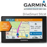 "Garmin DriveSmart 50LM|5"" Car GPS SatNav|Lifetime UK Europe Map Update|Bluetooth"