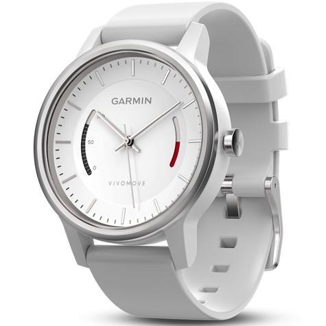Garmin Vivomove Analog Sports Watch | Activity Fitness Tracker | Sleep Monitor | White Thumbnail 3