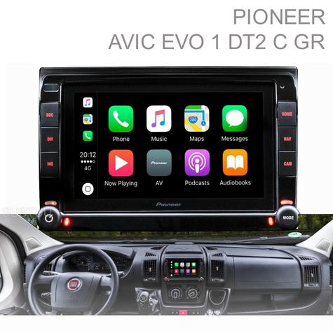 Pioneer Integrated Motorhome Navigation|Apple CarPlay & Android|Piano Black -NEW Thumbnail 1