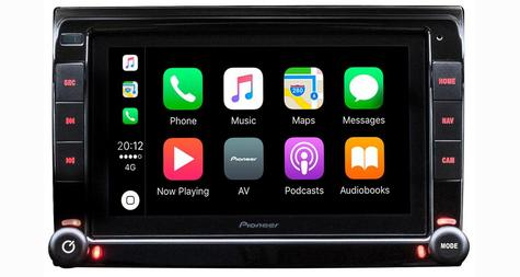 Pioneer Integrated Motorhome Navigation|Apple CarPlay & Android|Piano Black -NEW Thumbnail 2