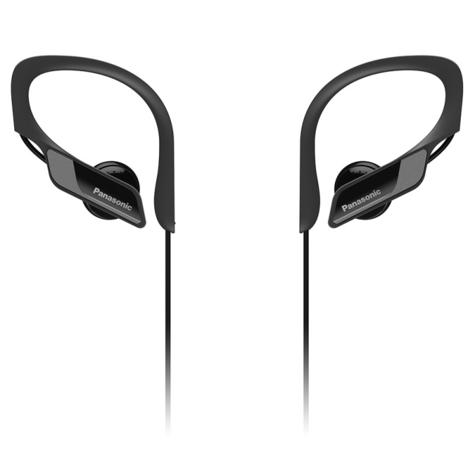 Panasonic RPBTS10EK Sports Clip Earphones| Wireless| Bluetooth| Lightweight| Black|  Thumbnail 1