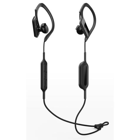 Panasonic RPBTS10EK Sports Clip Earphones| Wireless| Bluetooth| Lightweight| Black|  Thumbnail 2