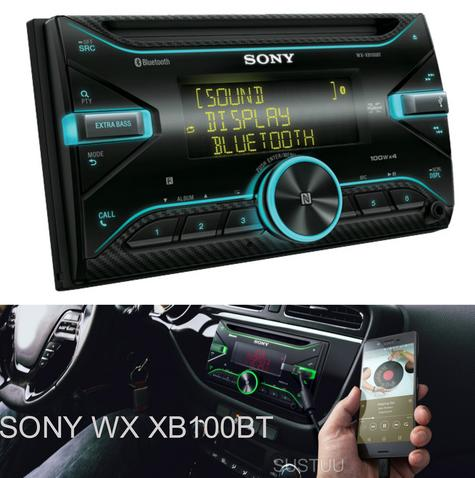 Sony Car Stereo|Radio|CD|MP3|USB|AUX|Bluetooth|iPod-iPhone-Android|Illumination Thumbnail 1
