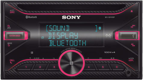 Sony Car Stereo|Radio|CD|MP3|USB|AUX|Bluetooth|iPod-iPhone-Android|Illumination Thumbnail 3