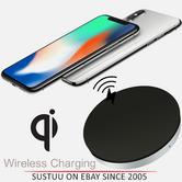 Zens Wireless Charging Pad/Dock|Qi Enabled SmartPhones|For iPhone X & iPhone8-8Plus