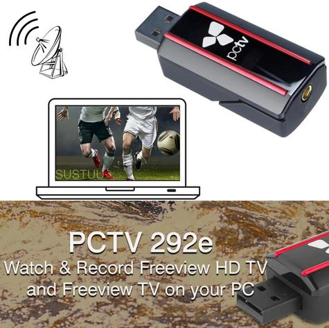 Hauppauge PCTV NanoStick T2 292e TV Receiver|Watch-Record|DVB-T2, DVB-T & DVB-C  Thumbnail 1