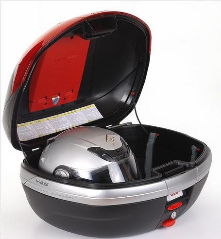 Givi V46N Monokey|46 Litre Motorcycle Top Back Storage Box|Matt Black Finish Thumbnail 5