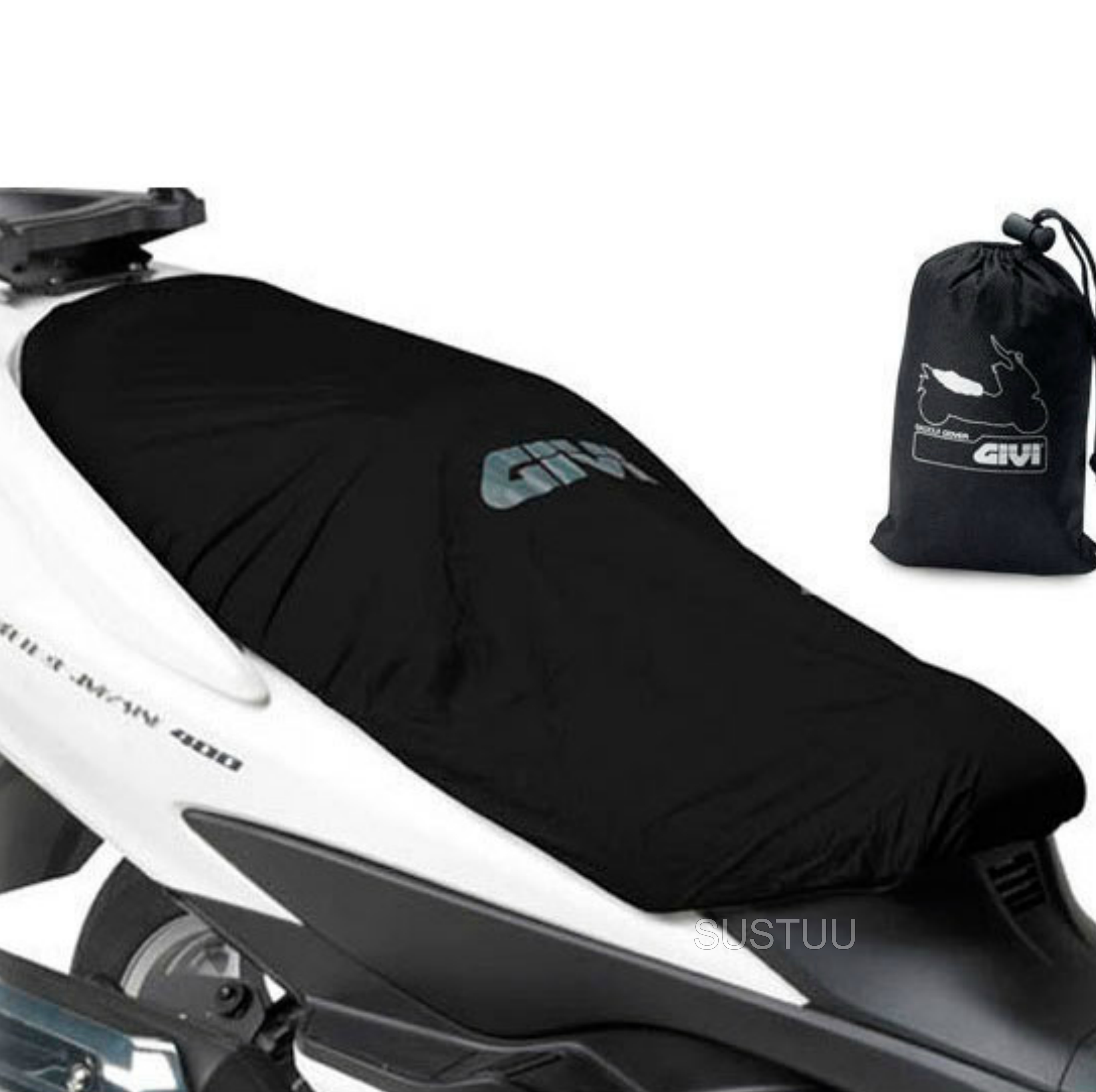 GIVI Universal Waterproof Seat Cover S210|Protects from Rain & Dust|100% Genuine