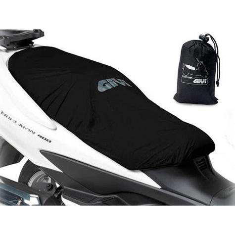 GIVI Universal Waterproof Seat Cover S210|Protects from Rain & Dust|100% Genuine Thumbnail 2