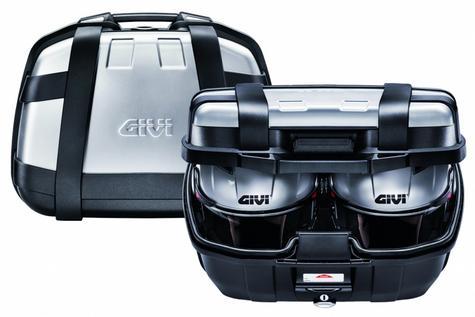 GIVI TRK52N Trekker|52L Universal Motorcycle Top Case|Monokey Aluminium HardBag Thumbnail 3