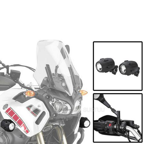 Givi S310 Motorcycle Trekker Lights|Auxiliary Halogen/Spot/ Fog/ Halogen Lights Thumbnail 1