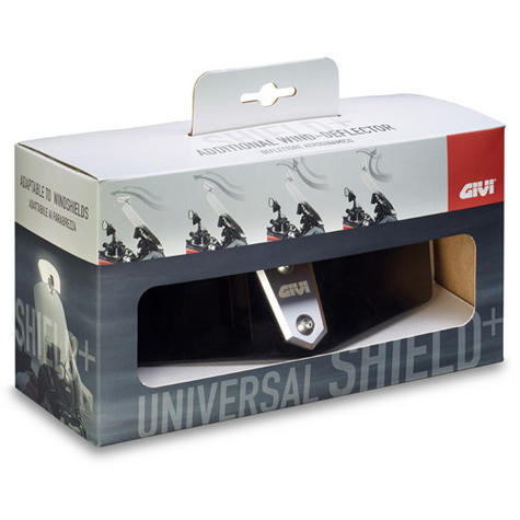 Givi S180T|Universal Transparent Spoiler|Motorcycle Wind Screen Deflector/Shield Thumbnail 4