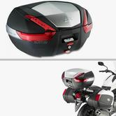 Givi V47N|Monokey Top Box With Auminium Cover|Motorcycle/Scooter Luggage Case 47