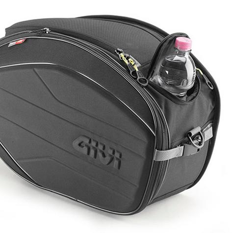 Givi Easy Bag Expandable Soft Side Saddle Bags|Universal Motorcycle Luggage|40Lt Thumbnail 3