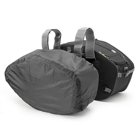 Givi EA101B|Motorcycle Expandable Pannier/Saddle/Side/Luggage Easy-T Soft Bags|30Ltr Thumbnail 3