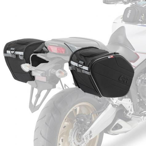 Givi EA101B|Motorcycle Expandable Pannier/Saddle/Side/Luggage Easy-T Soft Bags|30Ltr Thumbnail 7